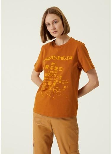 Academia Polo Yaka T-shirt Altın
